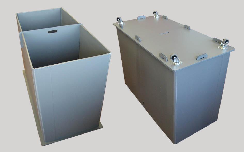Bancali e contenitori con ruote per movimentazione - Contenitori sottoletto con ruote ...