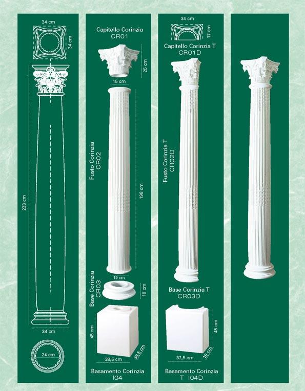 colonne polistirolo vendita on line