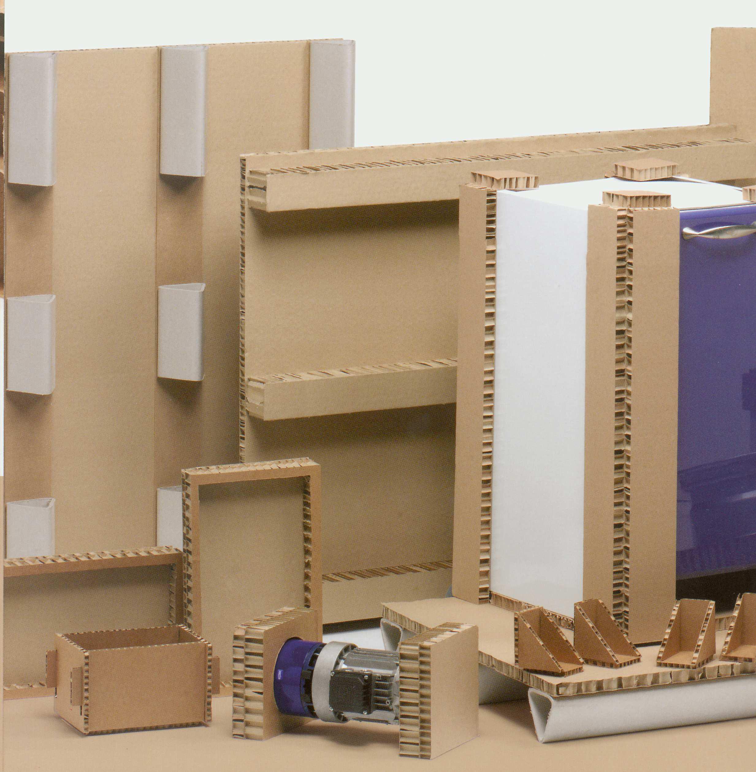 Cartone e pannelli nido d 39 ape for Pannelli di cartone